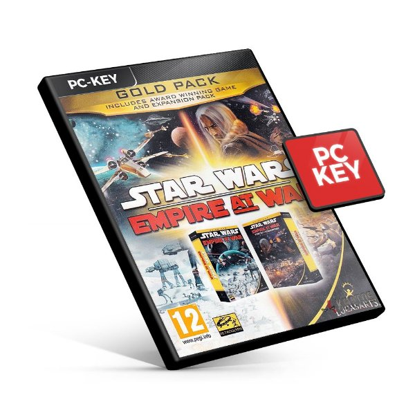 Star Wars Empire at War Gold Pack - PC KEY