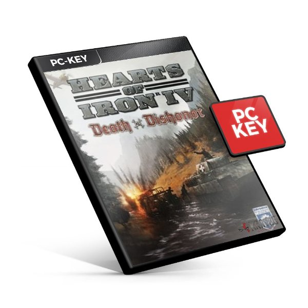 Hearts of Iron IV - Death or Dishonor DLC - PC KEY