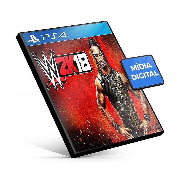 WWE 2K18 - PS4 Mídia Digital