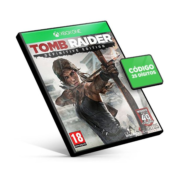 Tomb Raider Definitive Edition - Xbox One - Código 25 Dígitos