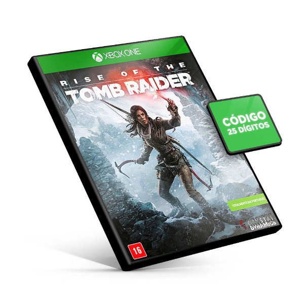 Rise of the Tomb Raider - Xbox One - Código 25 Dígitos