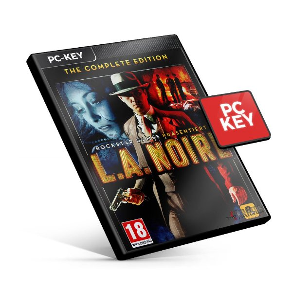 L.A. Noire The Complete Edition - PC KEY