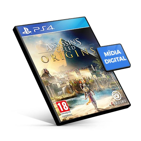 Assassin's Creed® Origins - PS4 Mídia Digital