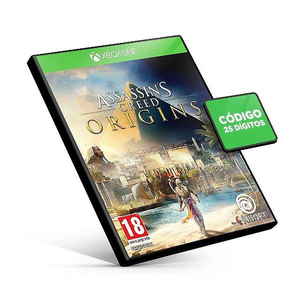 Assassin's Creed Origins - Xbox One Código 25 Dígitos