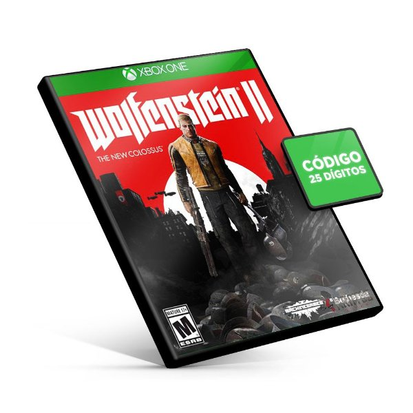 Wolfenstein® II: The New Colossus™ - Xbox One Código 25 Dígitos