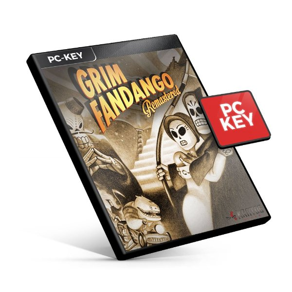 Grim Fandango Remastered - PC KEY