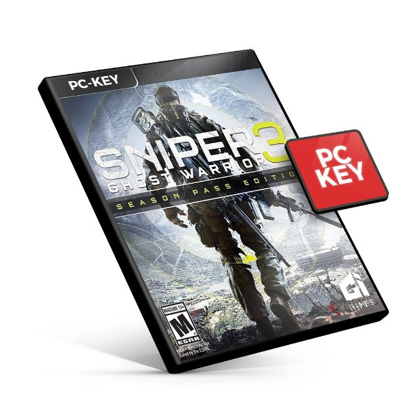 Sniper Ghost Warrior 3 + Season Pass - PC KEY