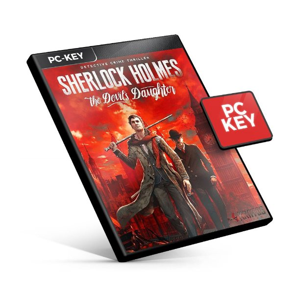 Sherlock Holmes The Devil's Daughter - PC KEY