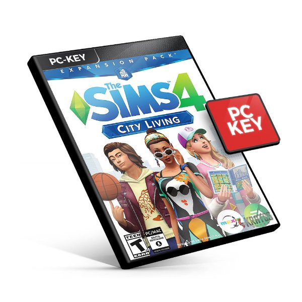 The Sims 4 City Living Expansão - PC KEY