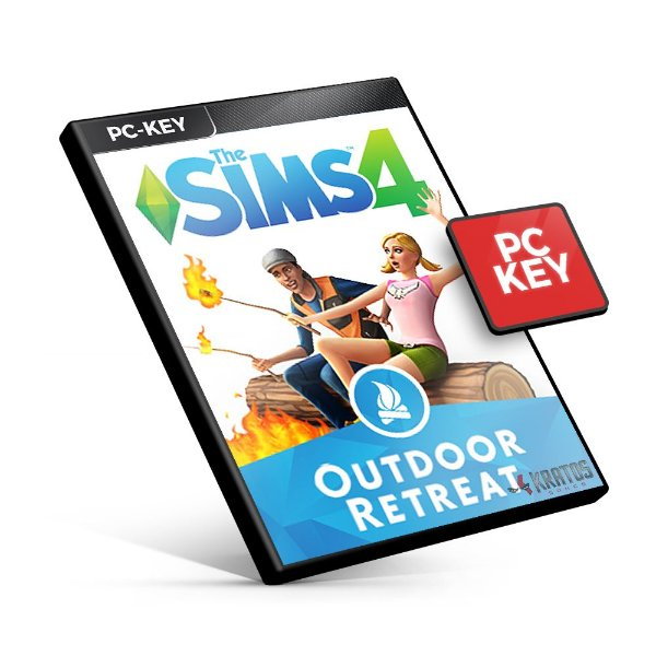 The Sims 4 Outdoor Retreat DLC - PC KEY