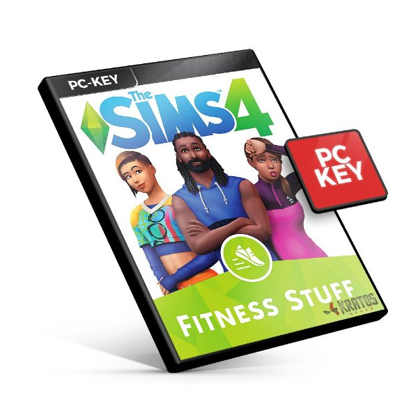 The Sims 4 Fitness Stuff DLC - PC KEY