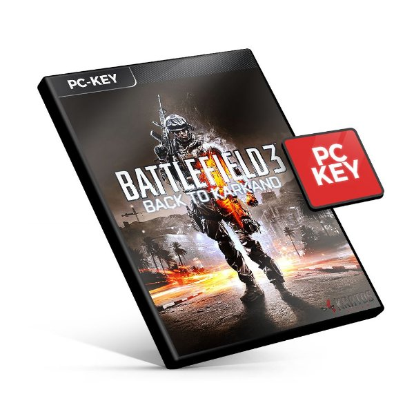 Battlefield 3 Back to Karkand Expansion Pack DLC - PC KEY