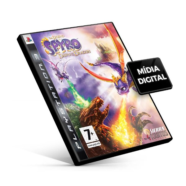 Spyro 3 jogos em 1 - PS3 Mídia Digital