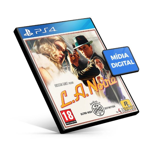 L.A. Noire - PS4 Mídia Digital