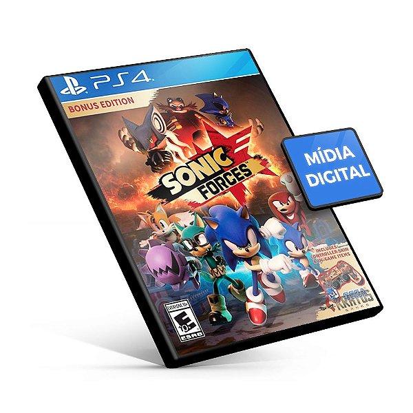 SONIC FORCES - PS4 Mídia Digital