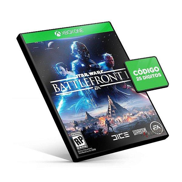 Star Wars Battlefront II - Xbox One - Código 25 Dígitos