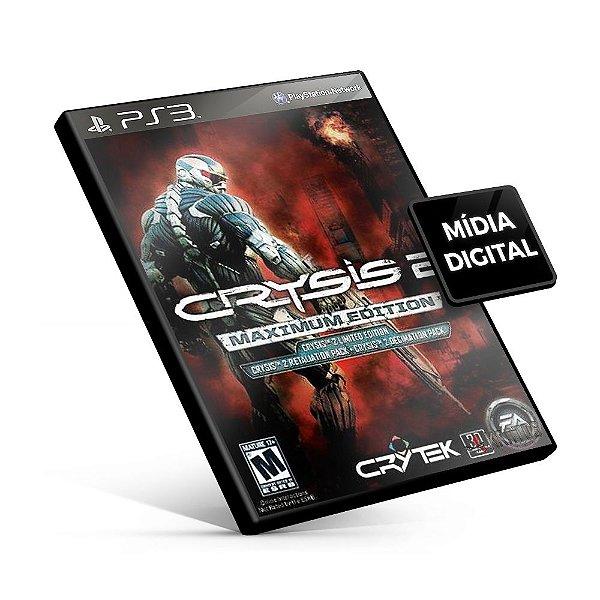 Crysis®2 Maximum Edition - PS3 Mídia Digital