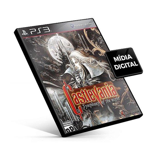 Castlevania: SotN - PS3 Mídia Digital