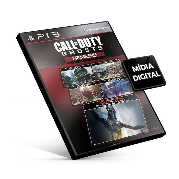 Call of Duty®: Ghosts - Nemesis DLC - PS3 Mídia Digital