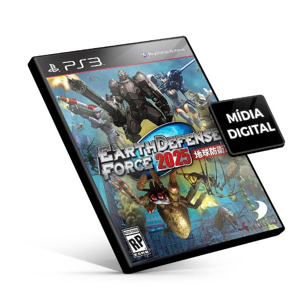 Earth Defense Force 2025 - PS3 Mídia Digital