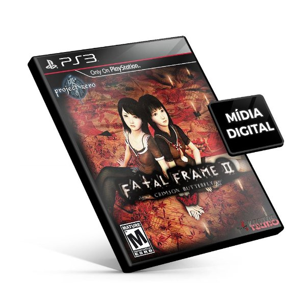 Fatal Frame® II: Crimson Butterfly (PS2 Classic) - PS3 Mídia Digital