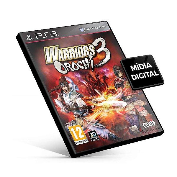 WARRIORS OROCHI® 3 - PS3 Mídia Digital