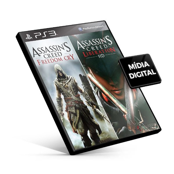 Assassin's Creed® Liberation HD and Freedom Cry Bundle - PS3 Mídia Digital