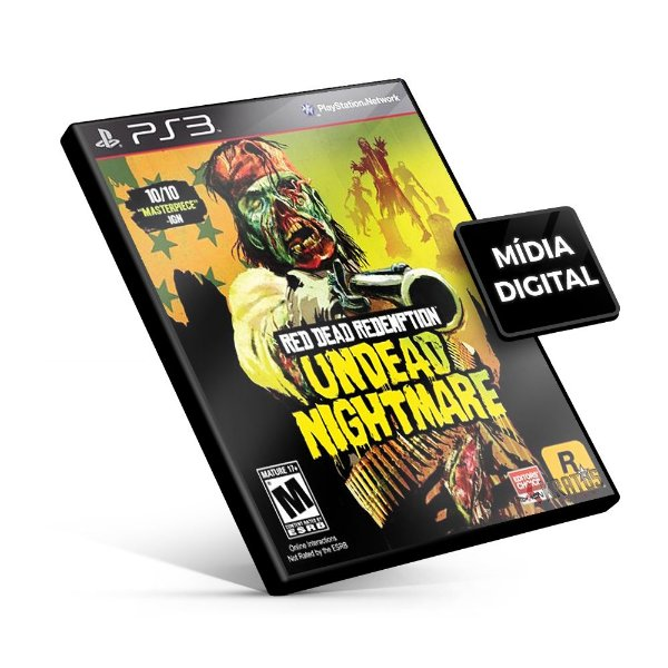 Red Dead Redemption Undead Nightmare - PS3 Mídia Digital