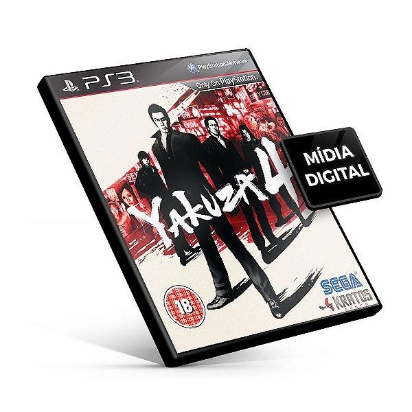 Yakuza 4 - PS3 Mídia Digital