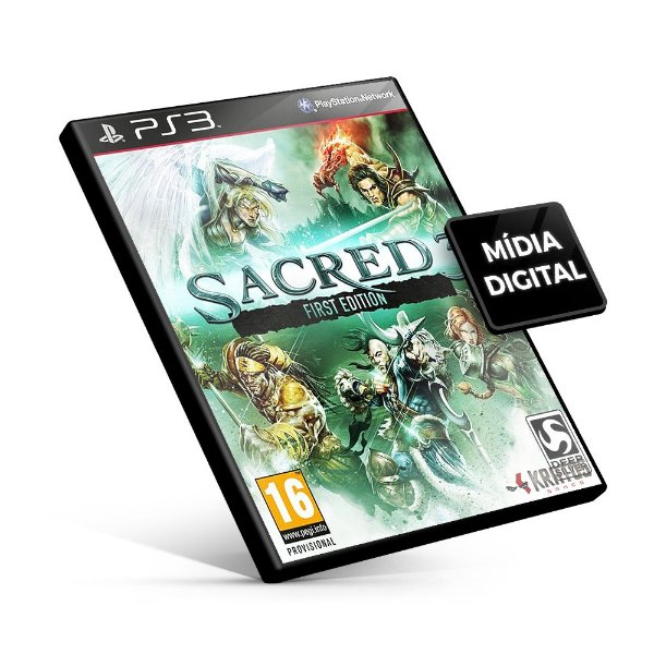 Sacred 3 - PS3 Mídia Digital