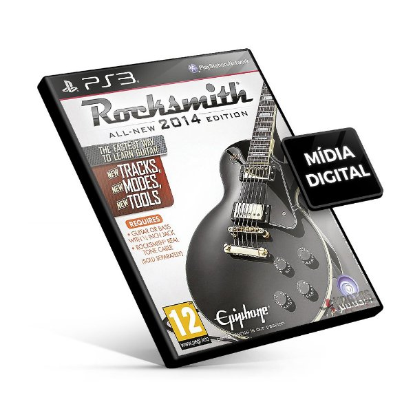 Rocksmith® 2014 Edition - PS3 Mídia Digital