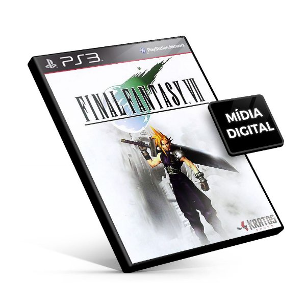 FINAL FANTASY® VII (PSOne Classic) - PS3 Mídia Digital