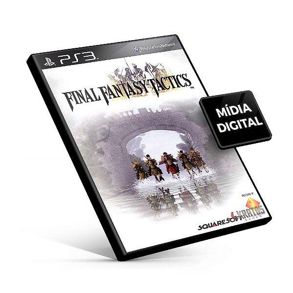 Final Fantasy Tactics (PSOne Classic) - PS3 Mídia Digital