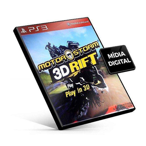 MotorStorm® 3D Rift - PS3 Mídia Digital