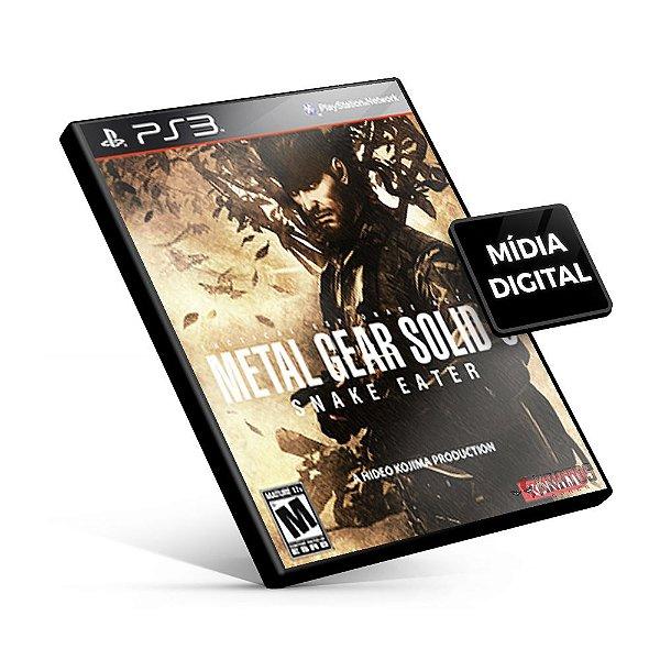 Metal Gear Solid 3: Snake Eater - HD Edition - PS3 Mídia Digital