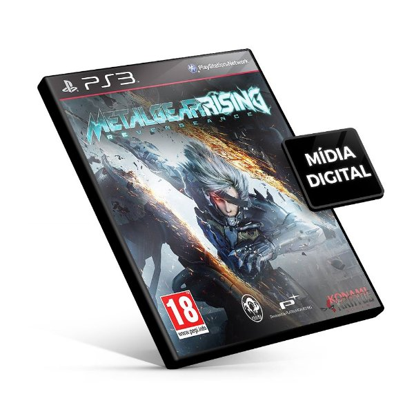 METAL GEAR RISING: REVENGEANCE - PS3 Mídia Digital
