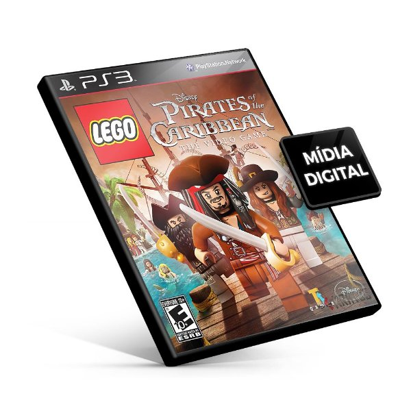 LEGO Pirates of the Caribbean: The Video Game - PS3 Mídia Digital