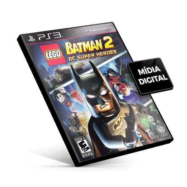 LEGO Batman 2: DC Super Heroes - PS3 Mídia Digital