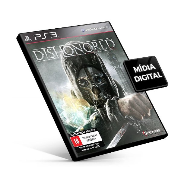 Dishonored - PS3 Mídia Digital