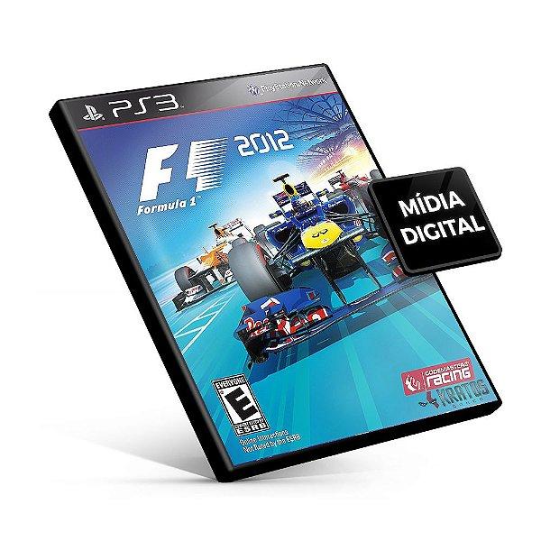 F1 2012 - PS3 Mídia Digital