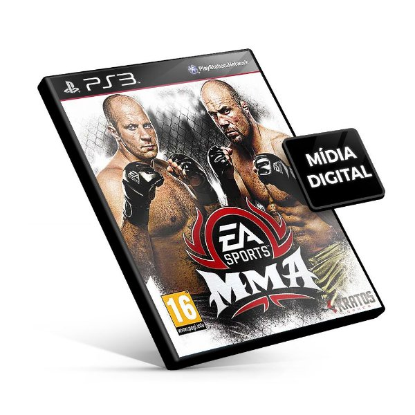 EA SPORTS™ MMA - PS3 Mídia Digital
