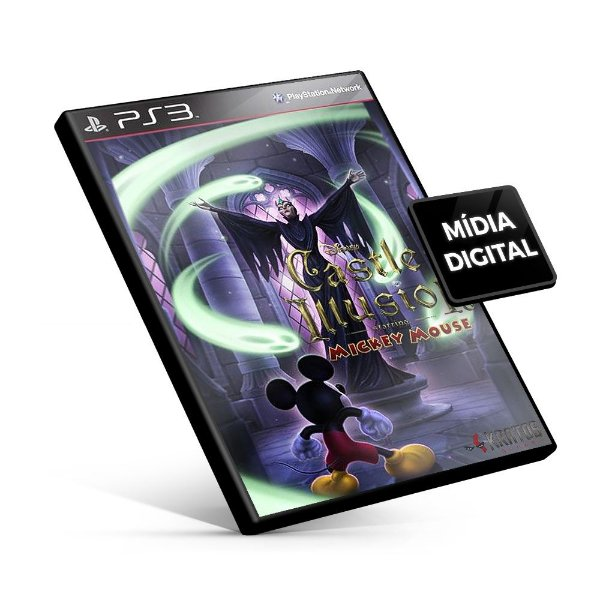 Castle of Illusion Starring Mickey Mouse - PS3 Mídia Digital
