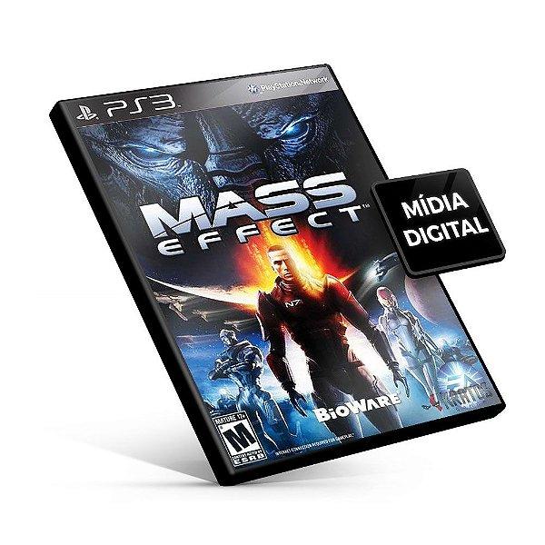 Mass Effect - PS3 Mídia Digital