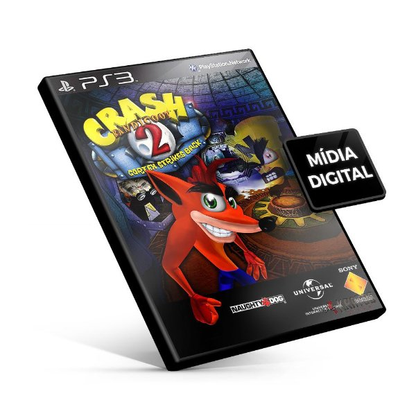 Crash Bandicoot 2 - PS3 Mídia Digital