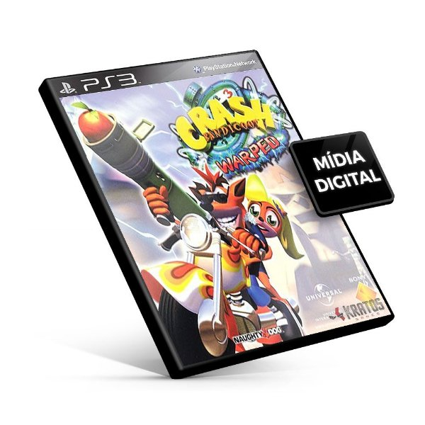 Crash Bandicoot 3 - PS3 Mídia Digital