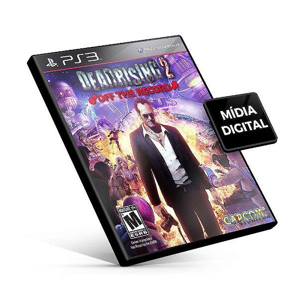Dead Rising® 2 Off The Record - PS3 Mídia Digital