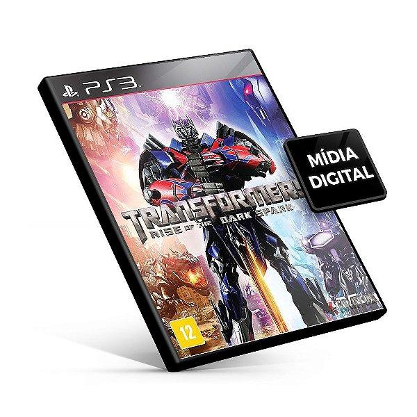 Transformers Rise of the Dark Spark Gold Edition - PS3 Mídia Digital