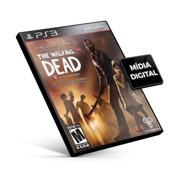 The Walking Dead The Complete First Season - PS3 Mídia Digital