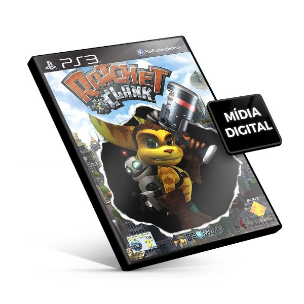 Ratchet Deadlocked - PS3 Mídia Digital