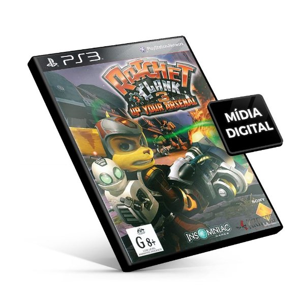 Ratchet & Clank® Up Your Arsenal - PS3 Mídia Digital